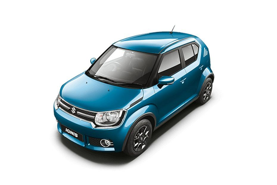 Drive your Turquoise Blue Maruti IGNIS home from Indus Motors